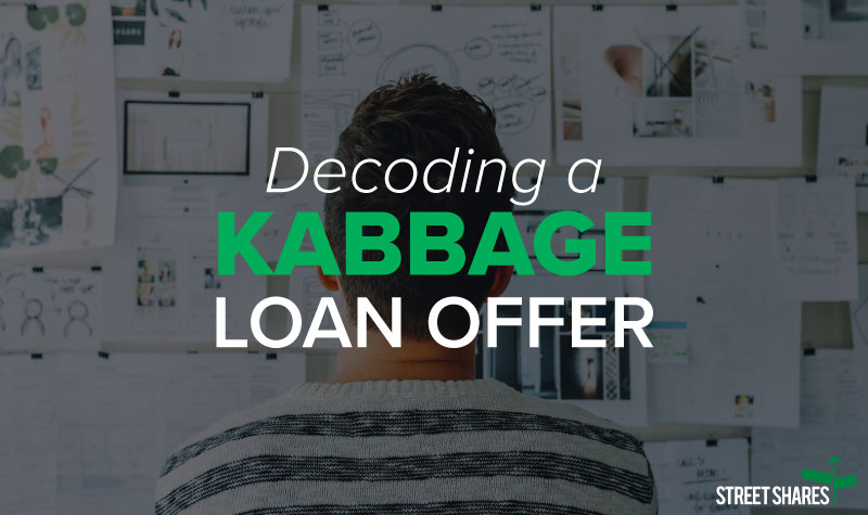 Decoding a Kabbage business loan offer
