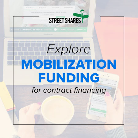 Explore mobilization government contract financing