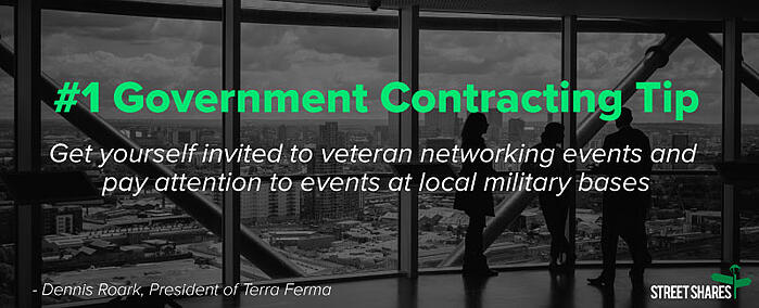 #1 Government Contracting Tip for Veteran Business Owners