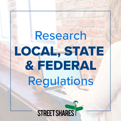 Research Local, State and Federal Regulations