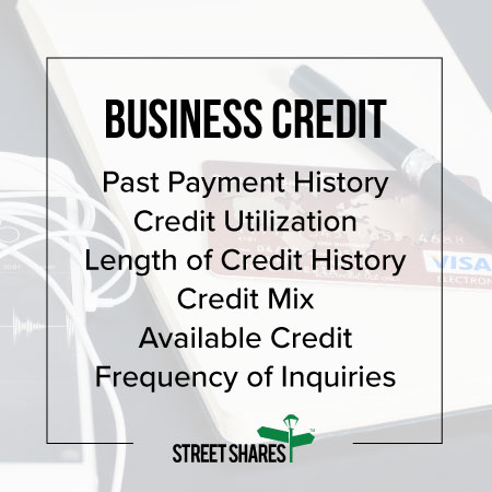 Business credit and what's considered