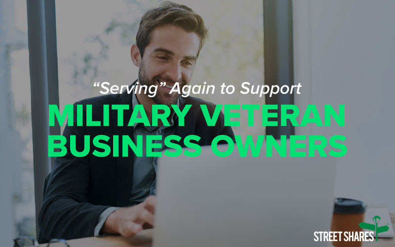 Serving again to support military veteran business owners