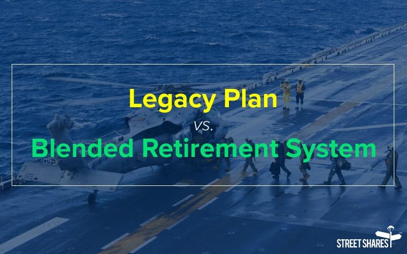 Legacy vs. Blended Retirement System (BRS): BRS calculator