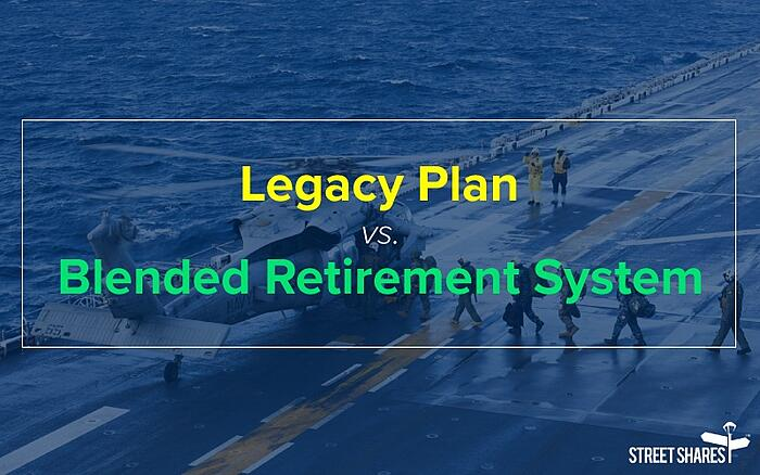 Legacy vs. Blended Retirement System (BRS): BRS calculator