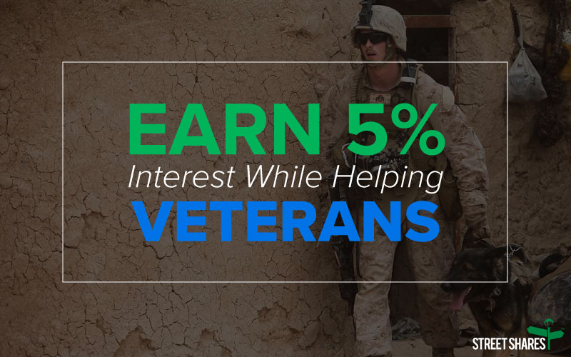 Earn 5% Interest While Helping Veterans
