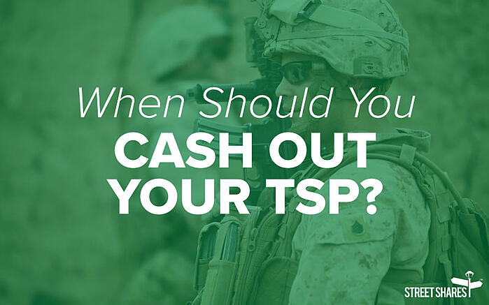 When Should You Cash Out Your TSP?