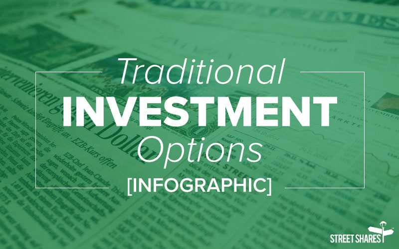 Traditional investment options [infographic]