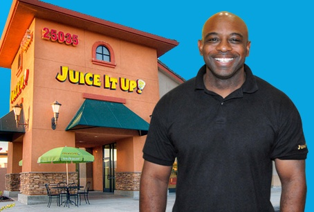 Willie Smith, veteran and franchisee at Juice It Up