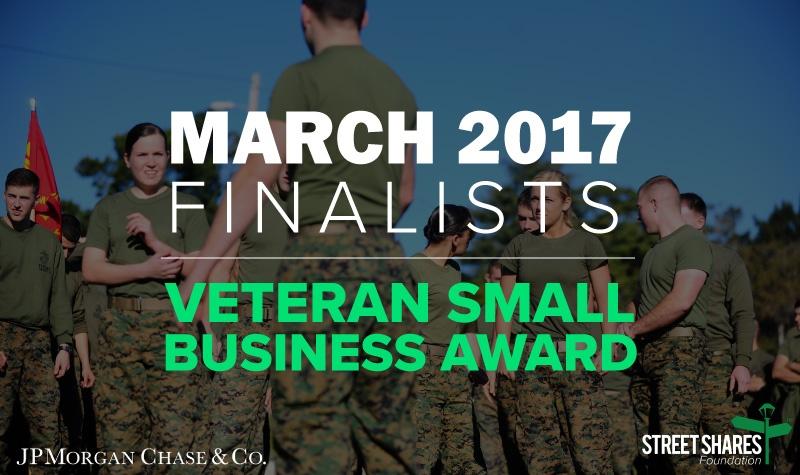 March 2017 Veteran Small Business Award Finalists