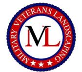 Military Veterans Landscaping