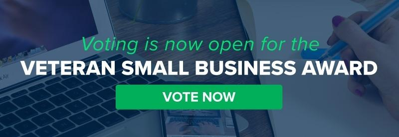 Voting is now open for the Veteran Small Business Award