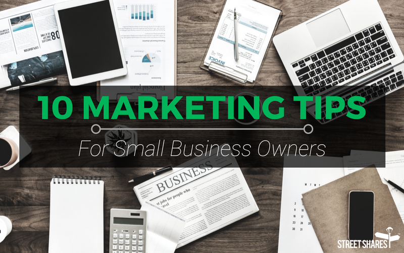 blog 10 marketing tips for small biz