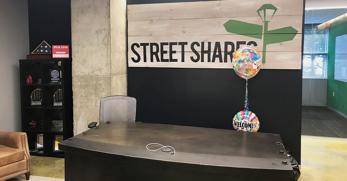 StreetShares' new office - reception area